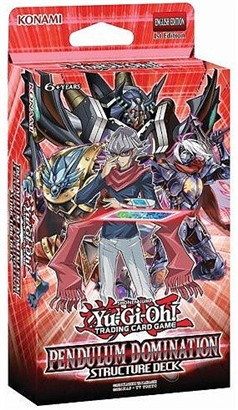 Yugioh Game Pendulum Domination English Structure Deck - 43 cards