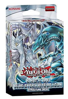 Yugioh Structure Deck Saga of Blue-Eyes White Dragon Sealed by Konami