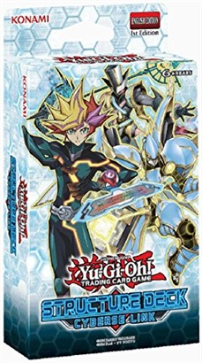 YuGiOh playmaker cyberse link structure deck