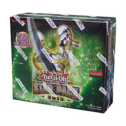 2013 Konami Yu-Gi-Oh Star Pack Unlimited Edition Booster Box