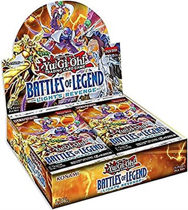 YuGiOh Battle Of Legend Light Revenge Booster Display Box