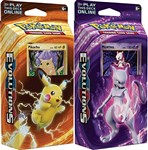 Pokemon Mewtwo & Pikachu XY Evolutions TCG Card Game Decks